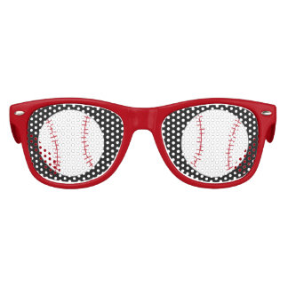 Baseball Themed Sunglasses- Party Favour