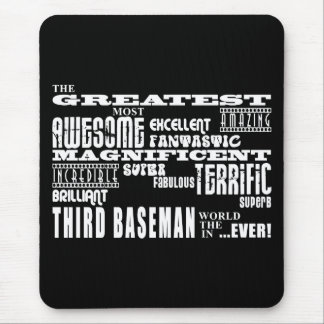 Baseball Third Basemen : Greatest Third Baseman Mouse Pad