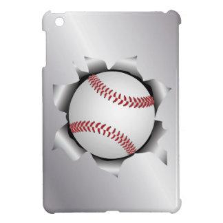 baseball thru metal sheet iPad mini covers