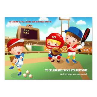 Baseball Tots Invitation