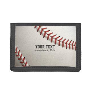 Baseball Trifold Wallets