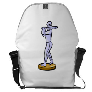 Baseball Trophy Courier Bags
