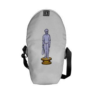 Baseball Trophy Messenger Bags