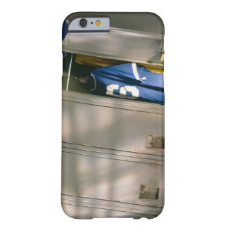 Baseball uniform and equipment in locker barely there iPhone 6 case