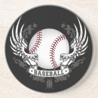 Baseball Wings Coaster