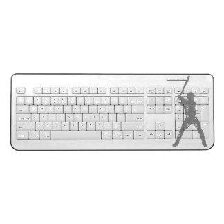 Baseball Wireless Keyboard