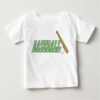 Baseball with Bat n Ball Baby T-Shirt