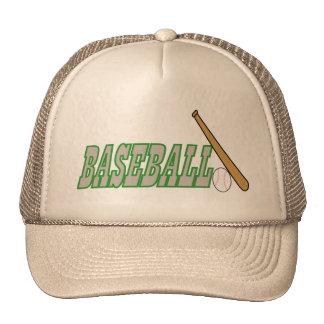 Baseball with Bat n Ball Cap