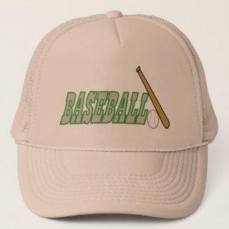 Baseball with Bat n Ball Trucker Hat