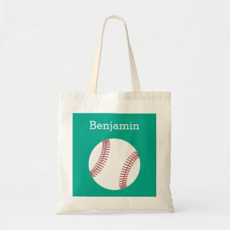 Baseball with Custom Name - Emerald