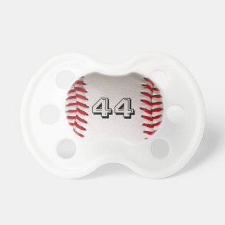 Baseball with customizable number dummy