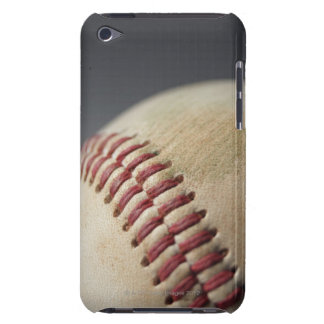 Baseball with impact mark. Case-Mate iPod touch case