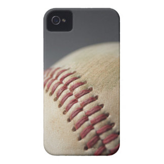 Baseball with impact mark. iPhone 4 cases