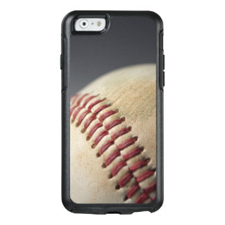 Baseball with impact mark. OtterBox iPhone 6/6s case
