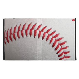 Baseball with Red Stitching iPad Cases