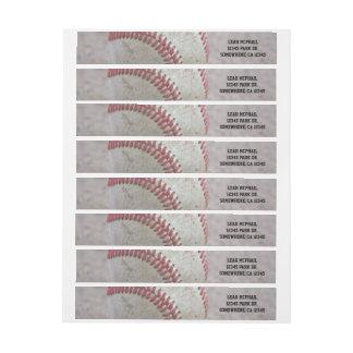Baseball Wrap Around Label