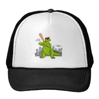 Baseball-zilla Trucker Hats