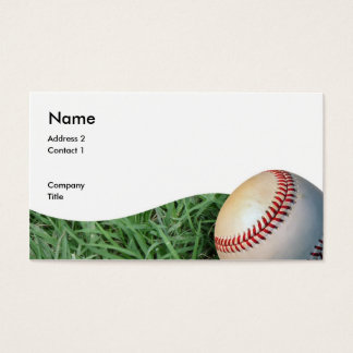 baseballbizcard, Address 2, Contact 1, Company,... Business Card