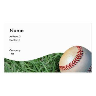 baseballbizcard, Address 2, Contact 1, Company,... Pack Of Standard Business Cards