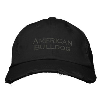 Baseballcap American Bulldog Embroidered Baseball Caps