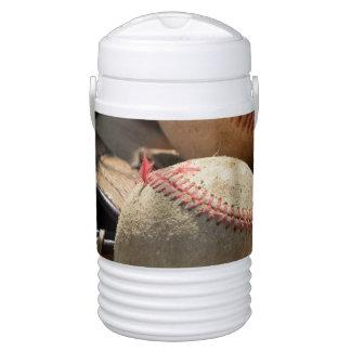 Baseballs and Glove Drinks Cooler