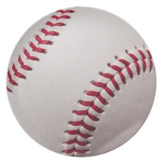 Baseballs - Customize Baseball Background Template Plate