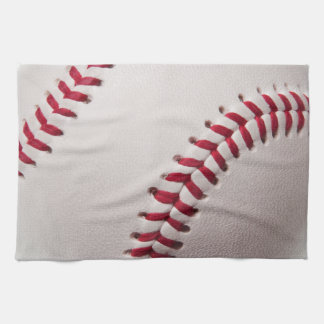 Baseballs - Customize Baseball Background Template Tea Towel