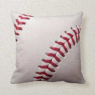 Baseballs - Customize Baseball Background Template Throw Cushions