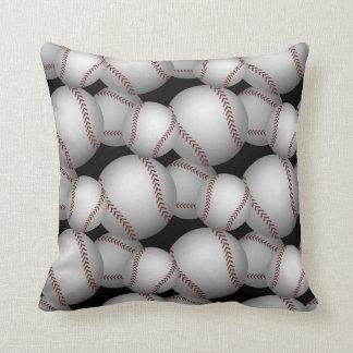 Baseballs Pattern Cushion