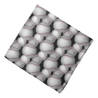 Baseballs Pattern Kerchief