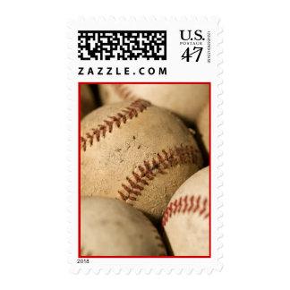 Baseballs  Postage Stamp