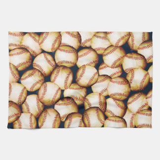 BASEBALLS TEA TOWEL