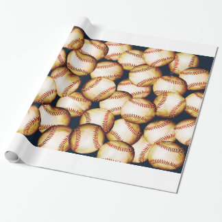 BASEBALLS WRAPPING PAPER