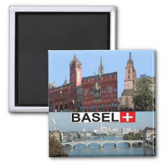 Basel Square Magnet