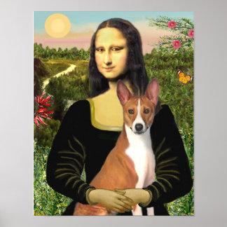 Basenji (#1) & Mona Lisa Posters