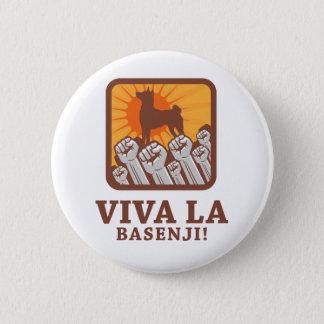 Basenji 6 Cm Round Badge
