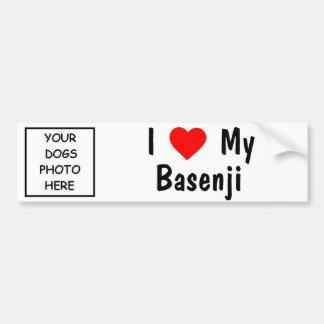 Basenji Bumper Sticker