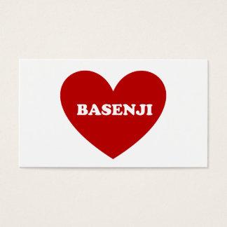 Basenji Business Card