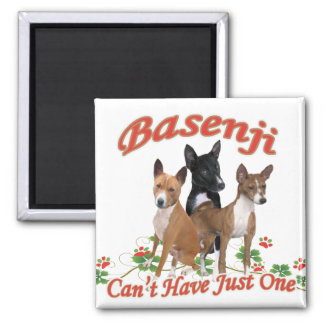 Basenji Can t Have Just One Gifts Refrigerator Magnet