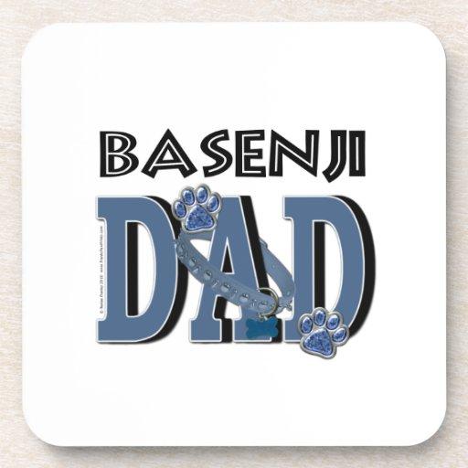 Basenji DAD Beverage Coaster