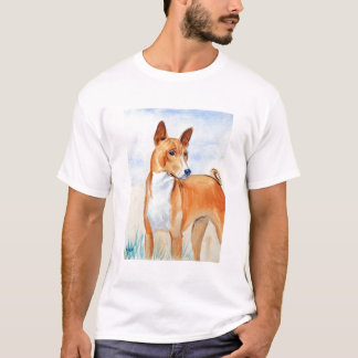 Basenji Dog Tee Shirt