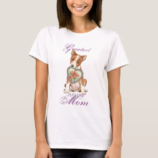 Basenji Heart Mom T-Shirt