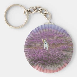 Basenji Serenity  keychain
