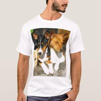 Basenji Tucson and Basja T-Shirt