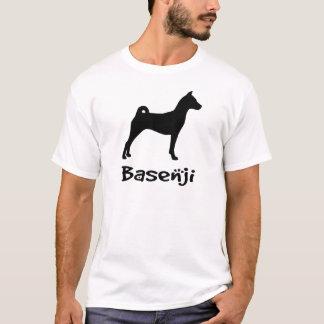 Basenji w/ Cool Text (in black) T-Shirt