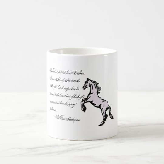 Basest Horned Hooves, Horse Quotes mug