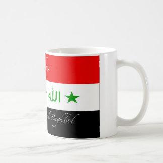Basheer Mug - Old Iraq Flag