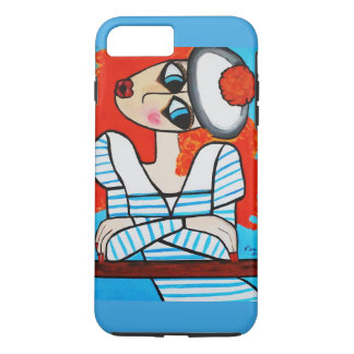 BASHFUL GIRL iPhone 8 PLUS/7 PLUS CASE