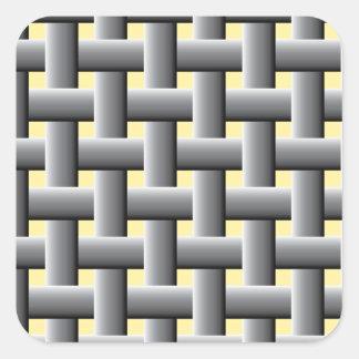 Basic basket weave pattern sticker