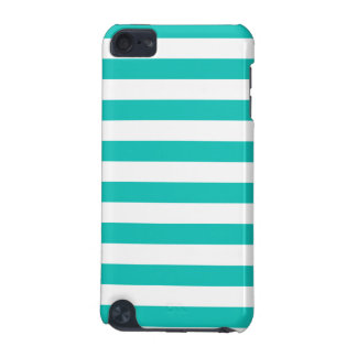 Basic Bluegreen Stripes Pattern iPod Touch (5th Generation) Case